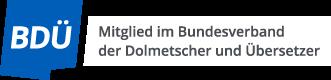 Logo Bundesverband der Dolmetscher und Übersetzer